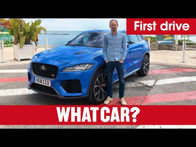 2020 <em>Jaguar</em> F-Pace SVR review – new V8 Porsche Macan rival | What Car?