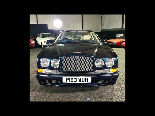 1997 Bentley Continental T review. 880Nm of torque!