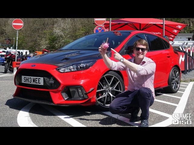My 500hp Mountune Focus RS - Nurburgring Ice Cream Run!
