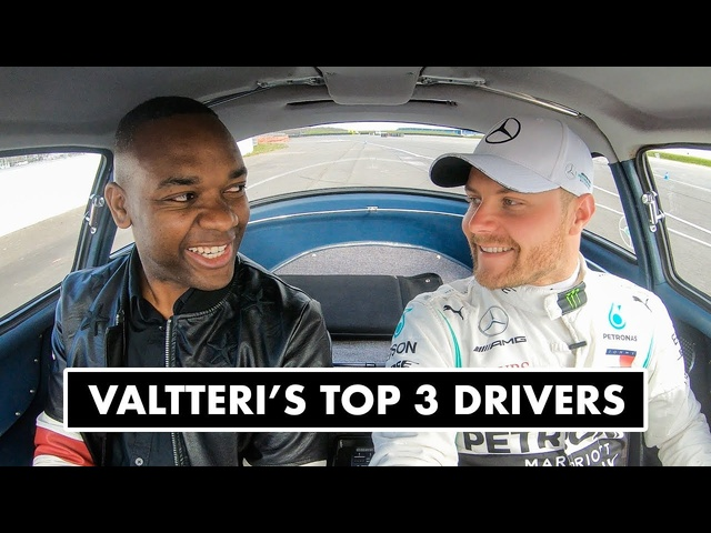 Top 3 Formula 1 Drivers According To Valtteri Bottas: Mercedes 300 SL Ride | Carfection +