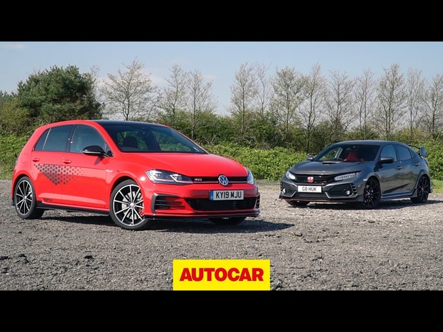 Track battle: 2019 VW Golf GTI TCR vs <em>Honda</em> Civic Type R | Autocar