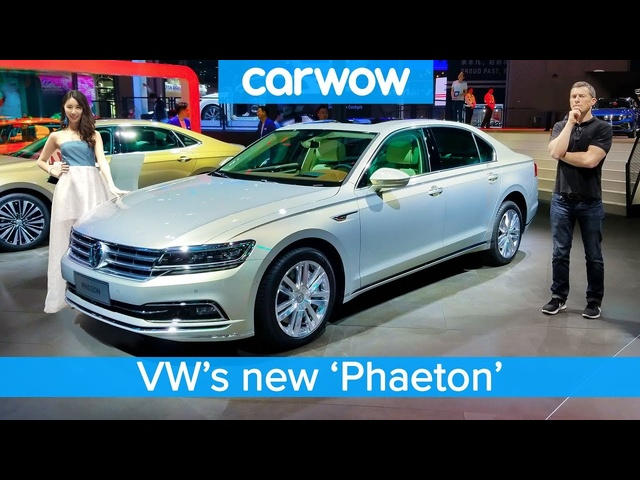 £80,000 <em>Volkswagen</em> 'Phaeton' and the other cool cars the Chinese get we DON'T!