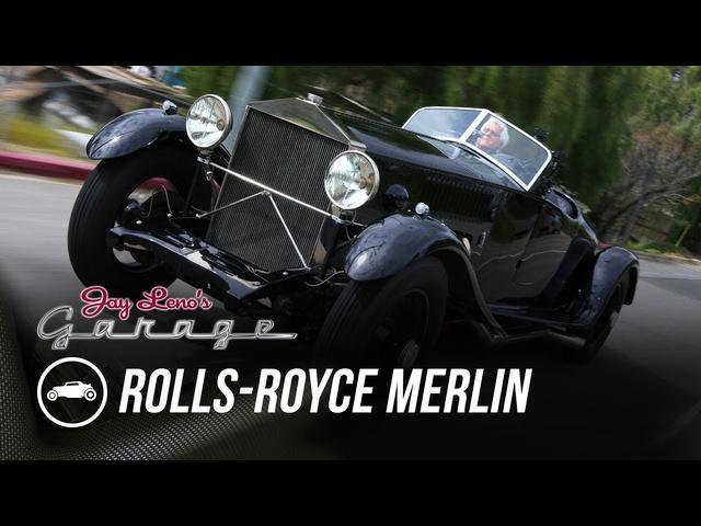 1934 Rolls-Royce Merlin -Jay Leno's Garage