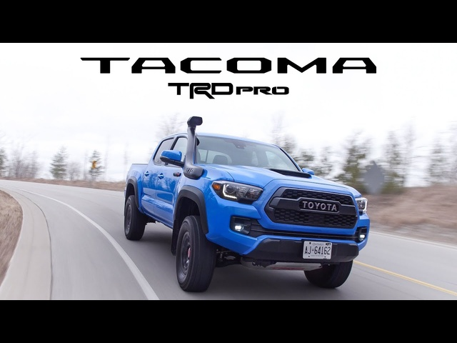2019 Toyota Tacoma TRD Pro Review -Still Good, But Not The Best