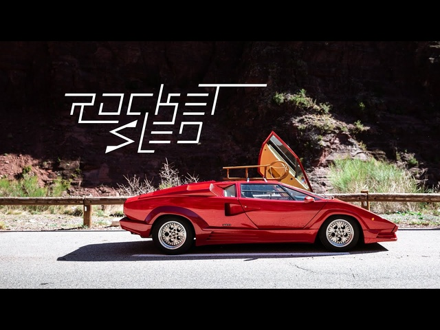 1988 Lamborghini Countach 25th Anniversary: The Rocket Sled