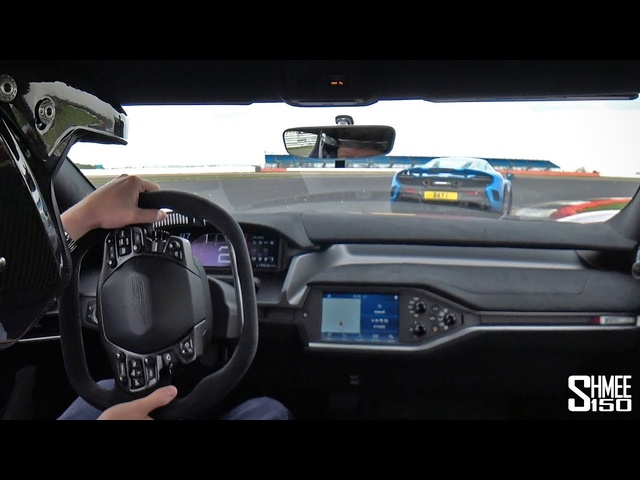 Chasing My Old McLaren 675LT in My Ford GT!