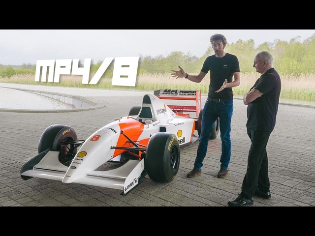 Ayrton Senna's 1993 MP4/8 F1 Car And His Personal Mechanic, An In-Depth Look | Carfection 4K