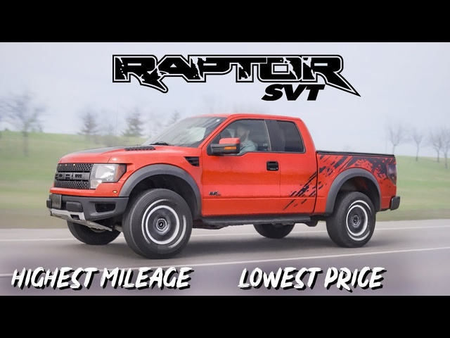 Daily Driving the Cheapest and Highest Mileage Ford Raptor in the WORLD