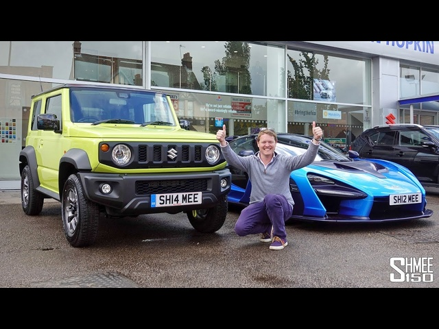 I BOUGHT A <em>SUZUKI</em> JIMNY! Collection Day with My Senna