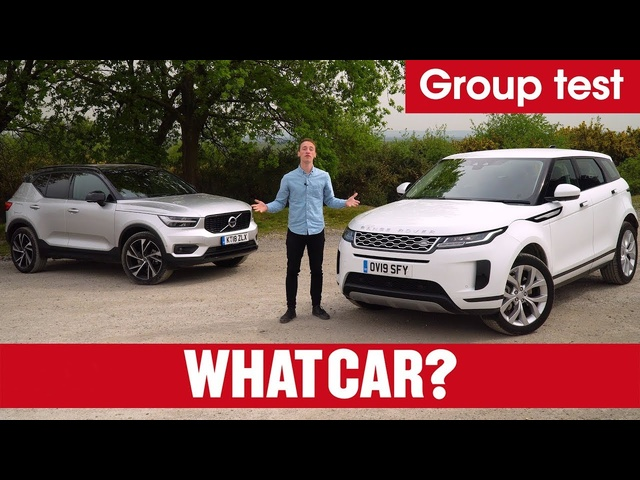 2019 Range Rover Evoque vs <em>Volvo</em> XC40 – what's the best family SUV? | What Car?