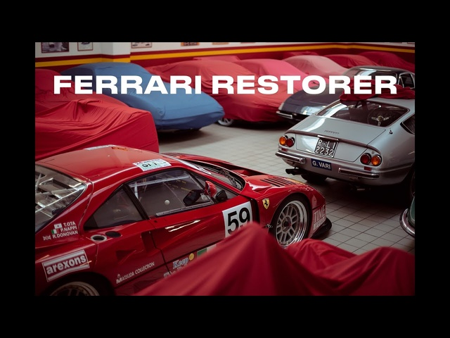 Master Mechanics: Bonini, <em>Ferrari</em> Service And Restorations - Clip