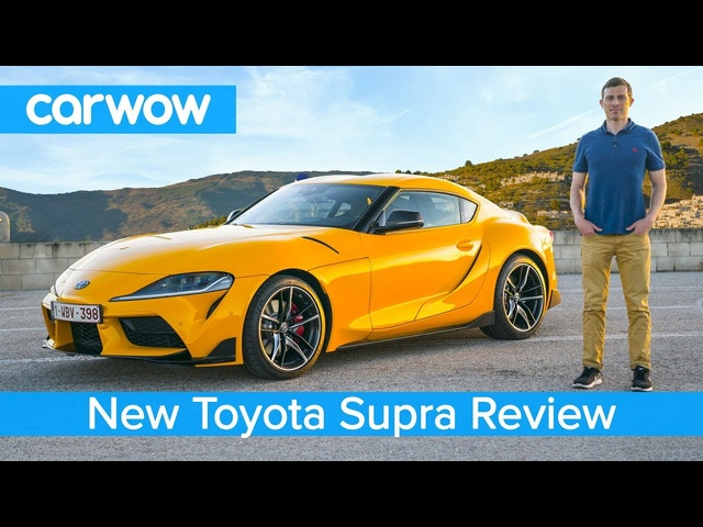 <em>Toyota</em> Supra 2020 in-depth review - tested on road, sideways on track and over the 1/4 mile sprint!