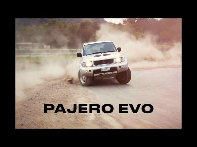 Homologation Specials: Mitsubishi Pajero Evo -Clip