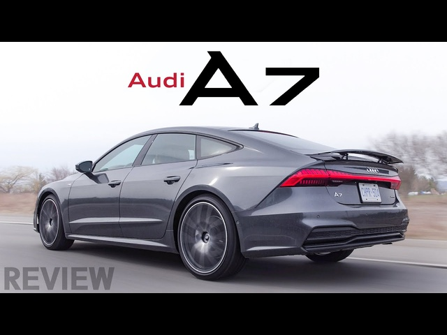 2019 <em>Audi</em> A7 Review - Business in the Front, Party in the Back