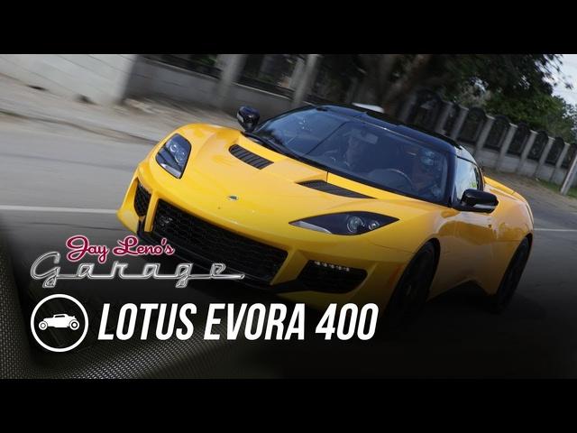 2019 Lotus Evora 400 -Jay Leno's Garage