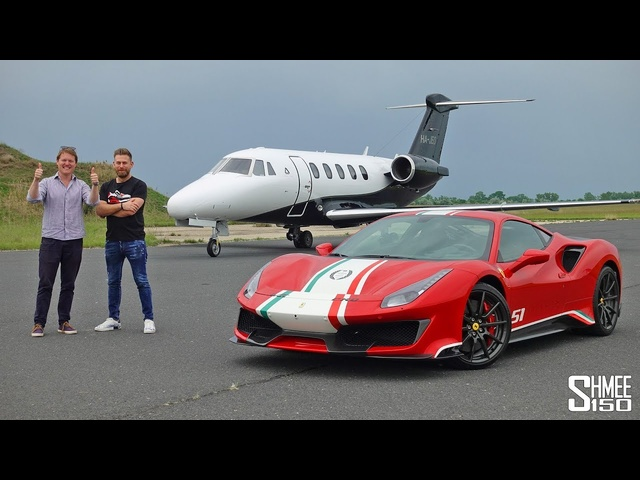 My Friend Josh Cartu Bought a FERRARI PISTA PILOTI!