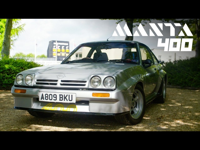Opel Manta 400: Group B Rally Homologation Legend | Carfection 4K