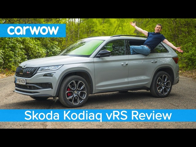 <em>Skoda</em> Kodiaq vRS SUV 2020 review - see how quick it is to 60mph and if it's worth £43k!