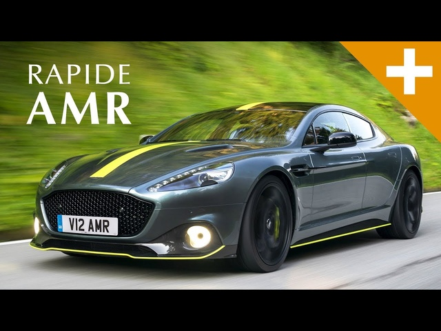Aston Martin Rapi<em>de</em> AMR: Aston's Last Naturally Aspirated V12 Engine Ever! | Carfection +