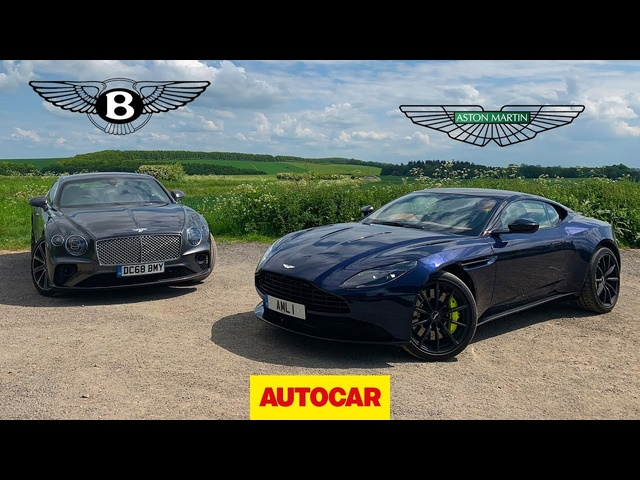 <em>Bentley</em> Continental GT vs Aston Martin DB11 AMR | Two great GT cars reviewed | Autocar