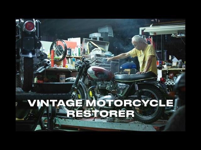 Master Mechanics: Yoshi Kosaka, Vintage Motorcycle Restorer -Clip