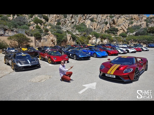 Chasing the $100m <em>Pagani</em> Rally in My Ford GT!