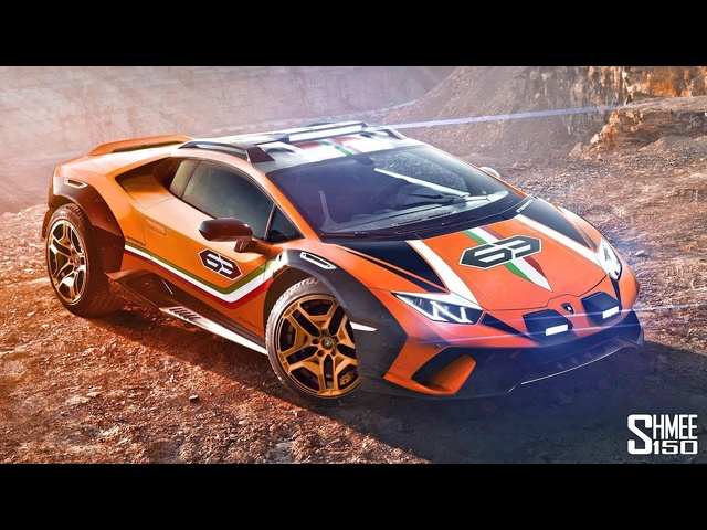The Lamborghini Sterrato is a Wild Super Off-Roader!