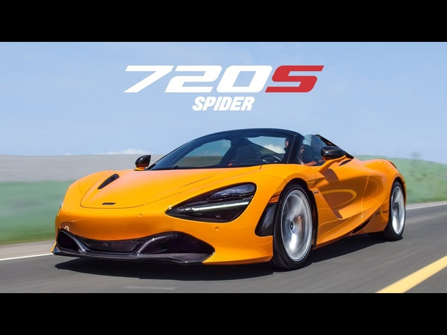 2020 McLaren 720S Spider Review - The Superest Super Car