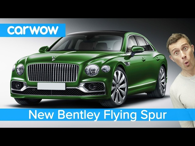 New £165K <em>Bentley</em> Continental Flying Spur 2020 - see why it makes a Mercedes S-Class seem cheap!