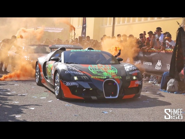 The Complete Start of the 2019 Gumball 3000 Rally in Athens!