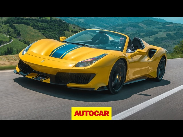 2019 Ferrari 488 Pista Spider review | The best convertible supercar? | Autocar