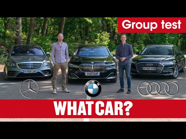 2020 BMW 7 Series vs <em>Audi</em> A8 vs Mercedes S-Class review – ultimate luxury limos tested | What Car?