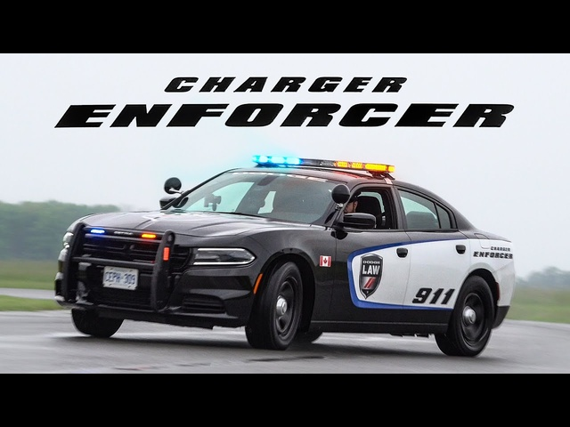 2019 <em>Dodge</em> Charger Enforcer Police Car Review - What It's Like To Be A Cop