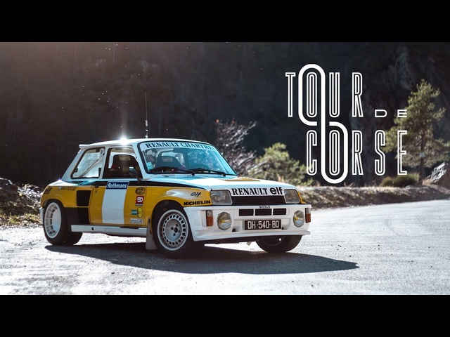1983 Renault 5 Turbo : Tour De Corse