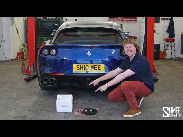 My <em>Ferrari</em> GTC4Lusso Has a Novitec Switchtronic Exhaust!