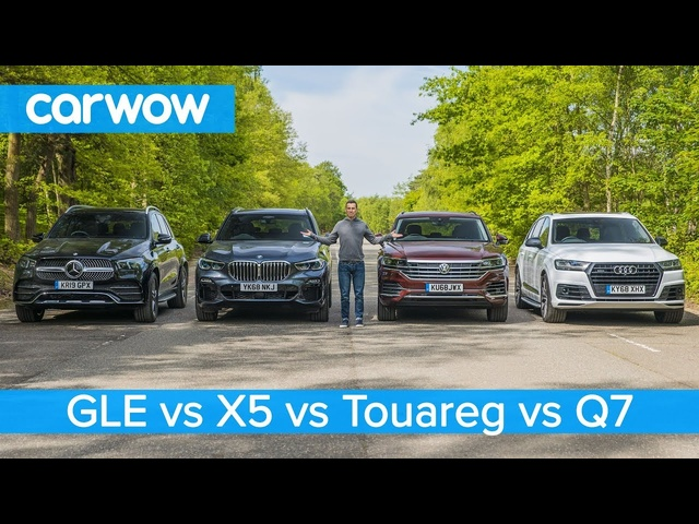 BMW X5 v Mercedes GLE v Audi Q7 v VW Touareg - which is the best premium SUV?
