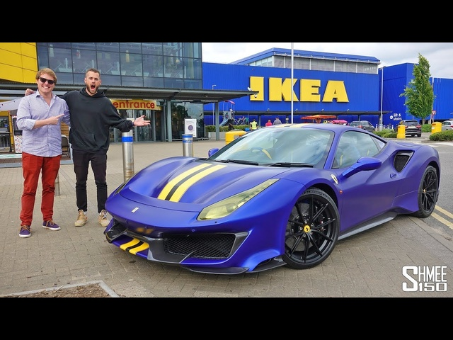 Trolling TGE and his New <em>Ferrari</em> 488 Pista IKEA EDITION!