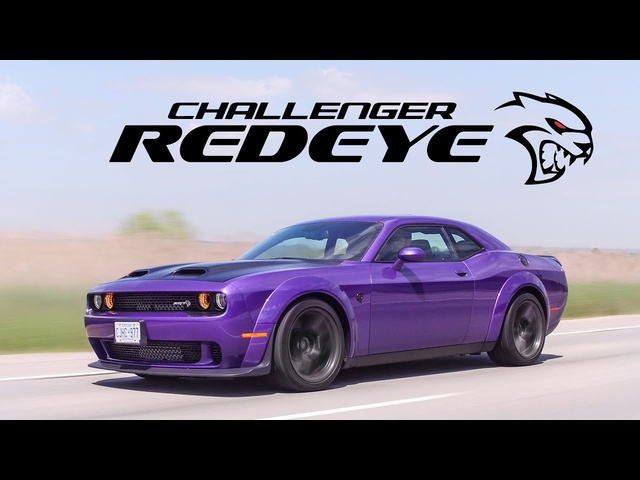 2019 Dodge Challenger Hellcat Redeye Widebody Review - How is This Street Legal?
