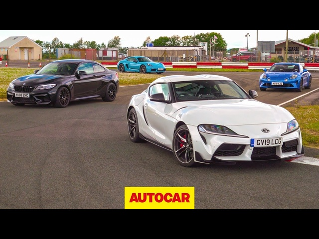 <em>Toyota</em> Supra vs BMW M2 Competition vs Porsche 718 Cayman T vs Alpine A110 | Autocar