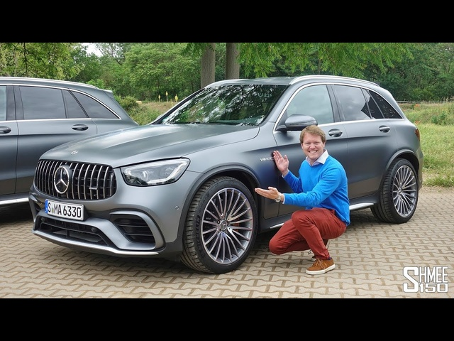 The New AMG GLC 63 S Does it All! Autobahn and Offroading