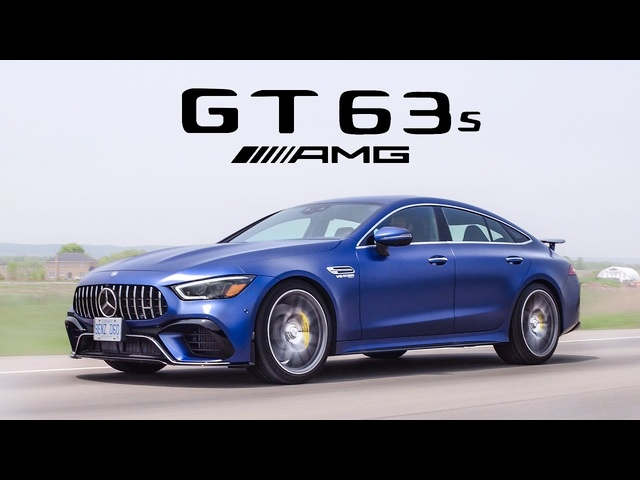 2019 Mercedes-AMG GT63S 4 Door Coupe Review - Most Powerful 4 Door Mercedes Ever Built