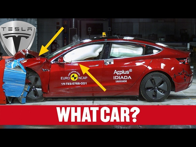 <em>Tesla</em> Model 3 Euro NCAP crash test results – is it as safe as you think it is? | What Car?
