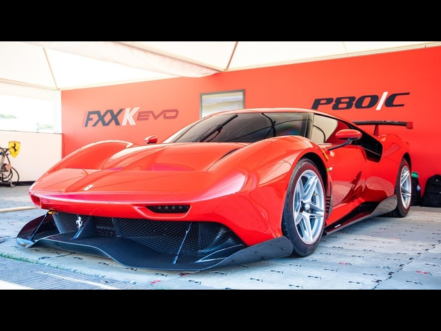 NEW Ferrari P80/C, In-Depth First Look: 2019 Goodwood FoS | Carfection