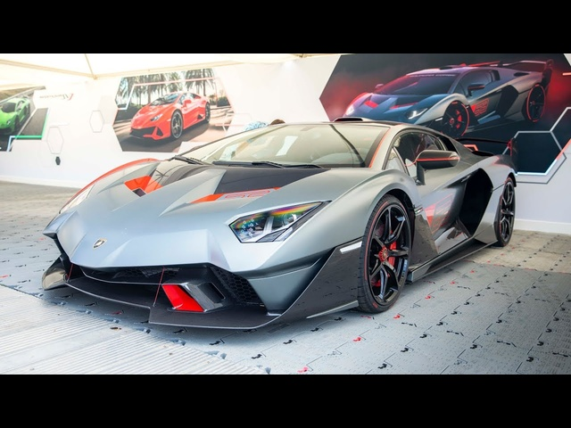 WORLD EXCLUSIVE! Lamborghini SC18 Alston: 2019 Goodwood FoS | Carfection