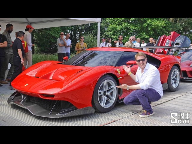 This is the One-off <em>Ferrari</em> P80/C! EXCLUSIVE RIDE FLAT OUT
