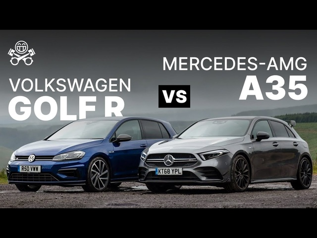 Mercedes-AMG A35 vs VW Golf R | PistonHeads