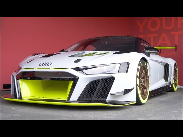 WORLD EXCLUSIVE! <em>Audi</em> R8 LMS GT2 First Look: 2019 Goodwood FoS | Carfection