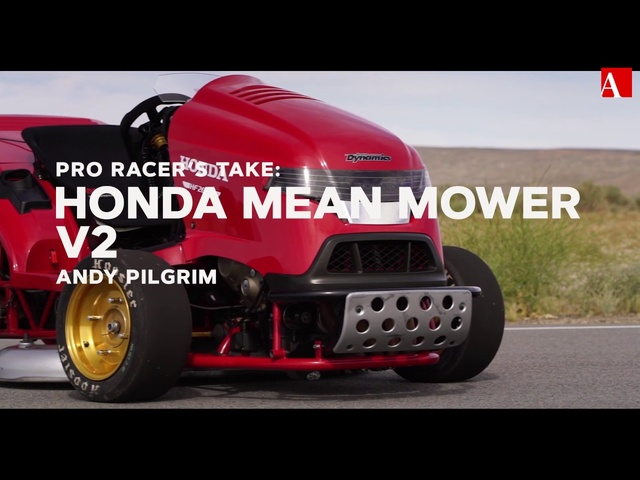 Pro Racer's Take: Honda Mean Mower V2