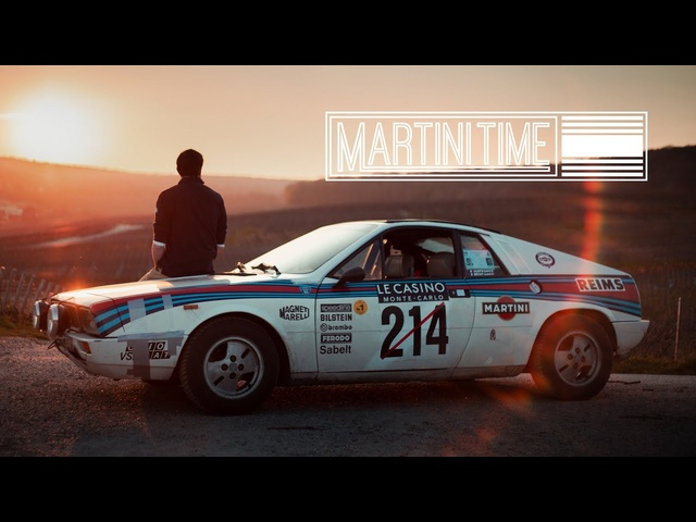 1977 Lancia Beta MonteCarlo: Martini Time