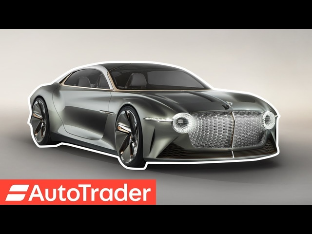 Bentley unveils its car of the future; the new EXP 100 GT